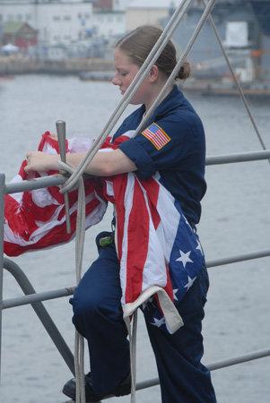 USS BLUE RIDGE LCC19 Mary Fornoff Navy
