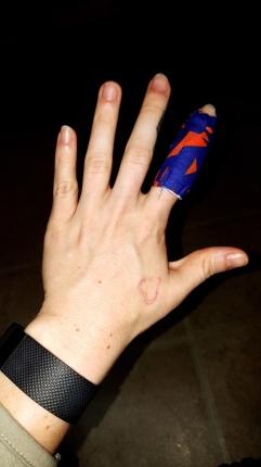 Mary Horsley hand