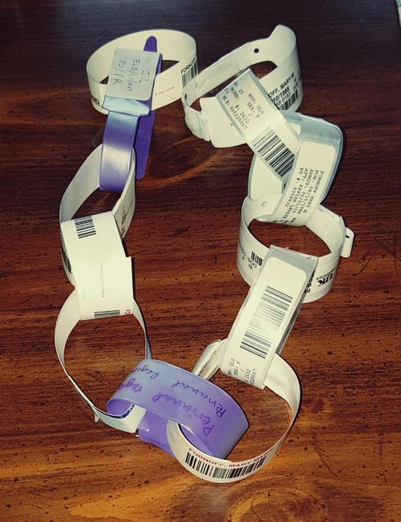 Medical bracelet Garland