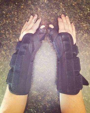 Carpal Tunnel - Wrist braces - It Could Be Worse Blog