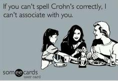 Crohn's spelling