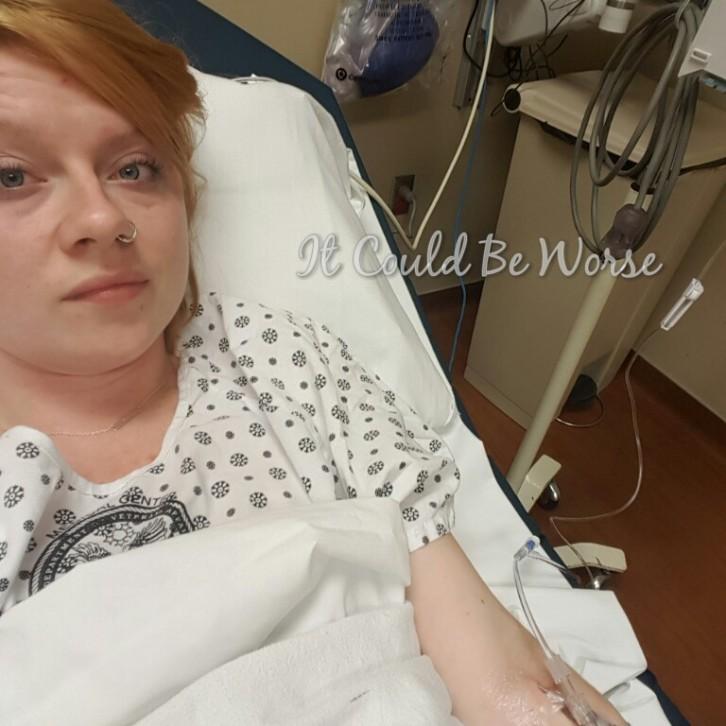 ER Visit - Crohn's - It Could Be Worse Blog - Pantoprazole