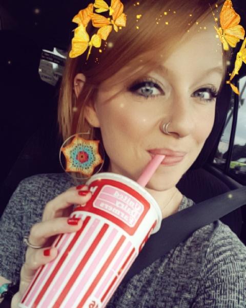 Snapchat Selfie UDF Milkshake
