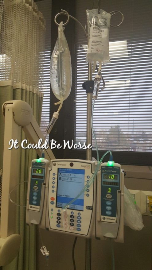 Remicade Day #1 - It Could Be Worse Blog