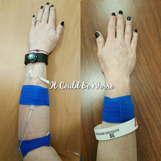 Remicade Day #3 - It Could Be Worse Blog