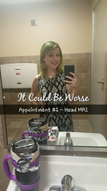 Another MRI for Mary - It Could Be Worse
