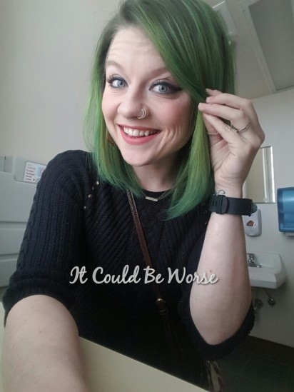 Green With Envy - It Could Be Worse Blog