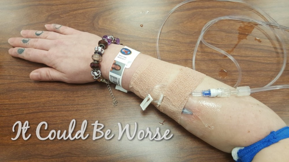 Entyvio Infusion #3 - It Could Be Worse Blog