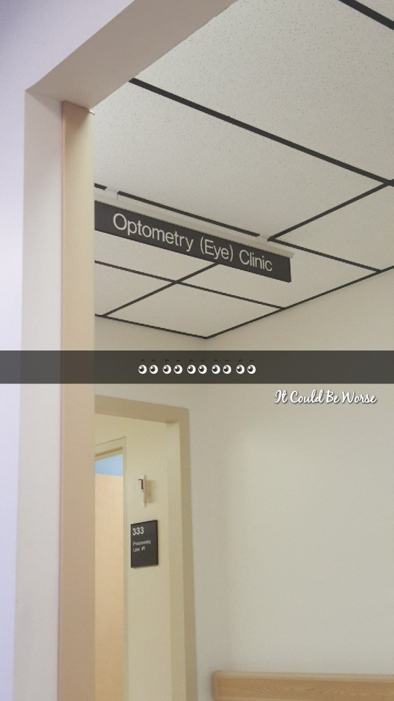 Optometry and Friday the 13th -- Weeks 41 & 42 - Another Week in My Crohn's Journey
