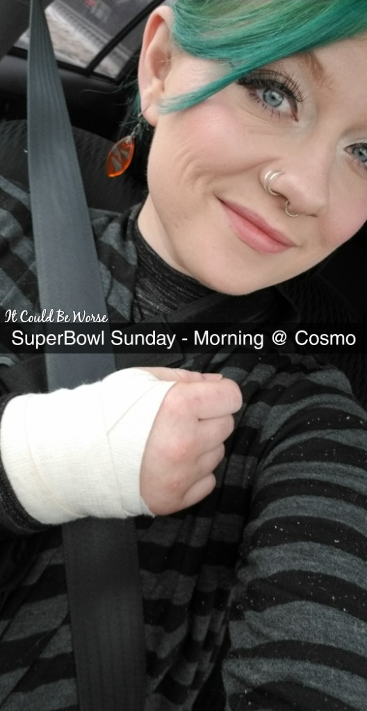 Stelara Infusion & Ganglionectomy Pain - It Could Be Worse - Mary Horsley