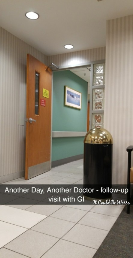 Always Another Appointment - It Could Be Worse Blog