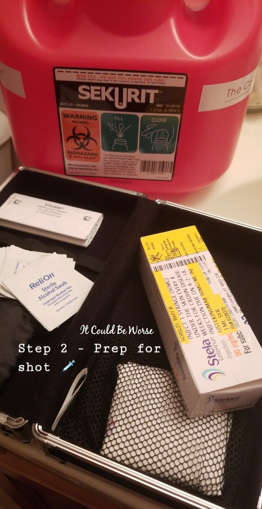 Stelara Self-Injection #1 | It Could Be Worse Blog