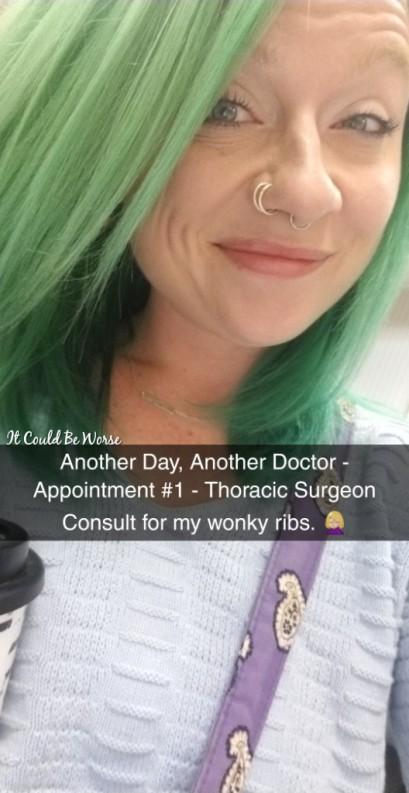 Stelara Self-Injection #2 & Rib Pain - It Could Be Worse Blog - Mary Horsley