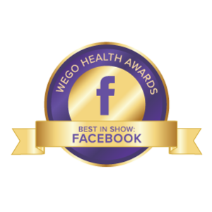 WEGO Health Awards - Best in Show - Facebook