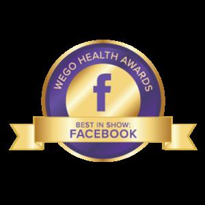 WEGO Health Awards - Best in Show - Facebook