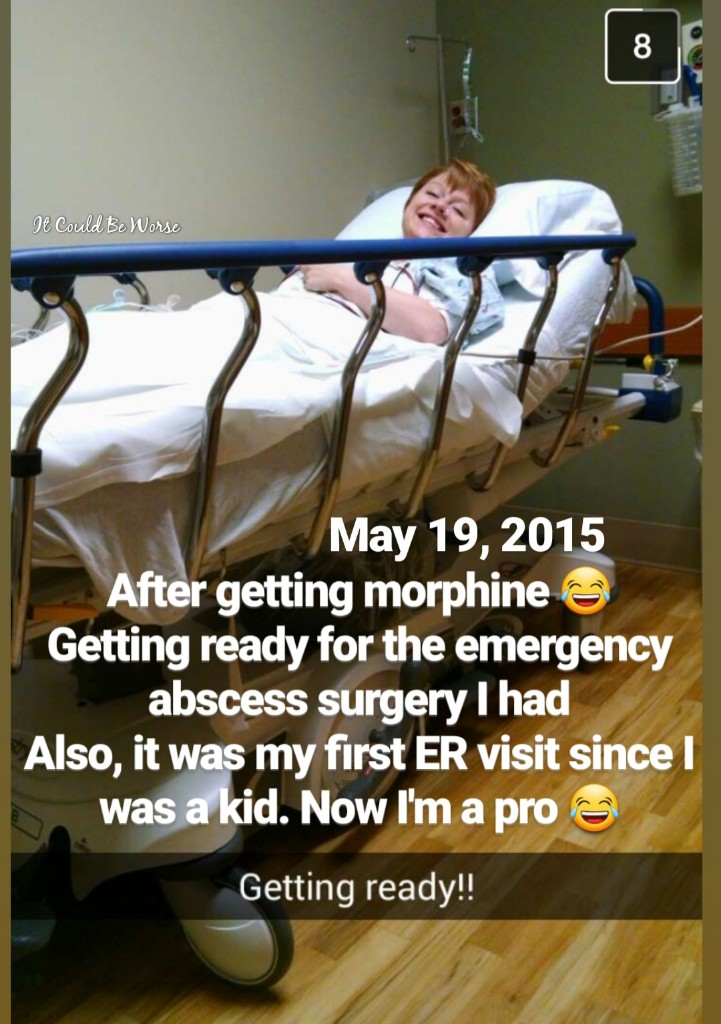 Perianal Abscess #2 in My Crohn's Disease Journey | IT COULD BE WORSE BLOG - Mary Horsley